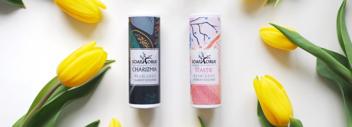 RECENZE: Nové organické deodoranty Soaphoria