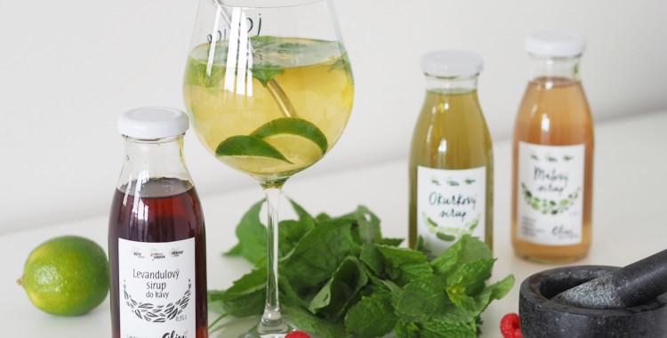 Poctivé domácí sirupy a drinky, které si letos zamilujete