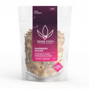Sense Coco Kokosové chipsy malinové Bio 40 g