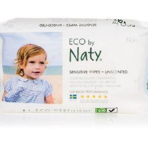 Naty Nature Babycare Vlhčené ubrousky bez vůně - pro citlivou pokožku 20 ks